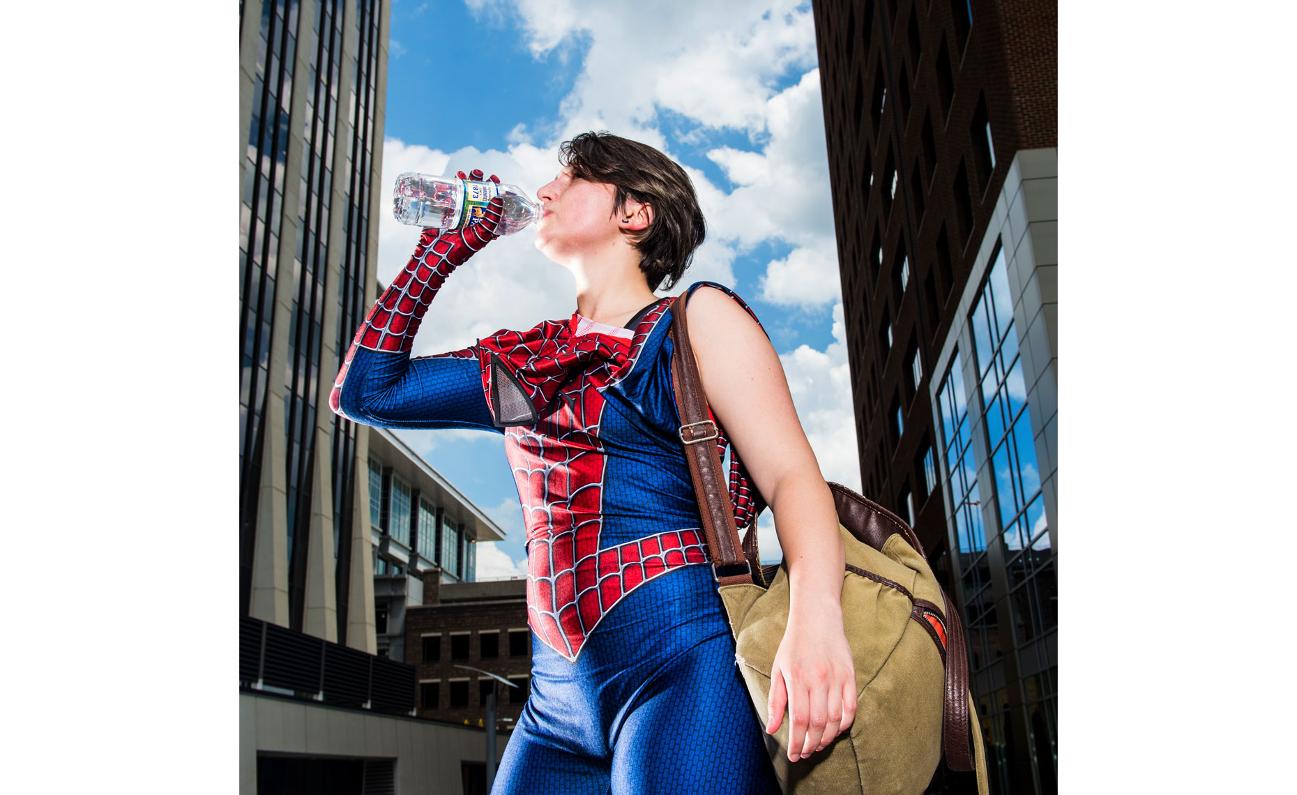 Raleigh Editorial photography Bryan Regan cosplay spider girl