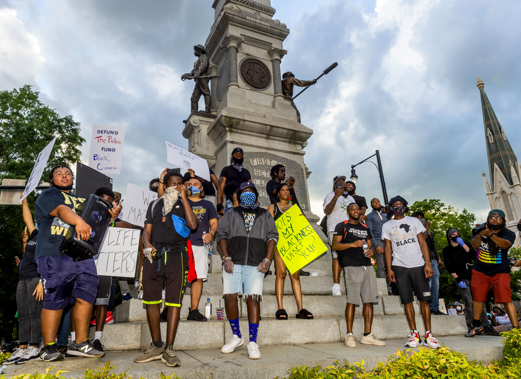 Raleigh black lives matter photography