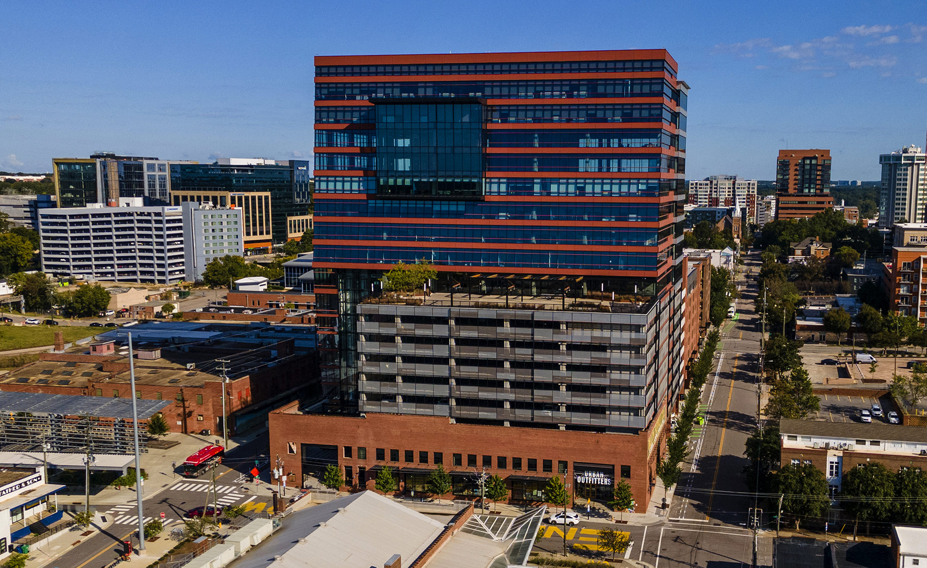 Raleigh aerial photography The Dillon Bryan Regan Photography