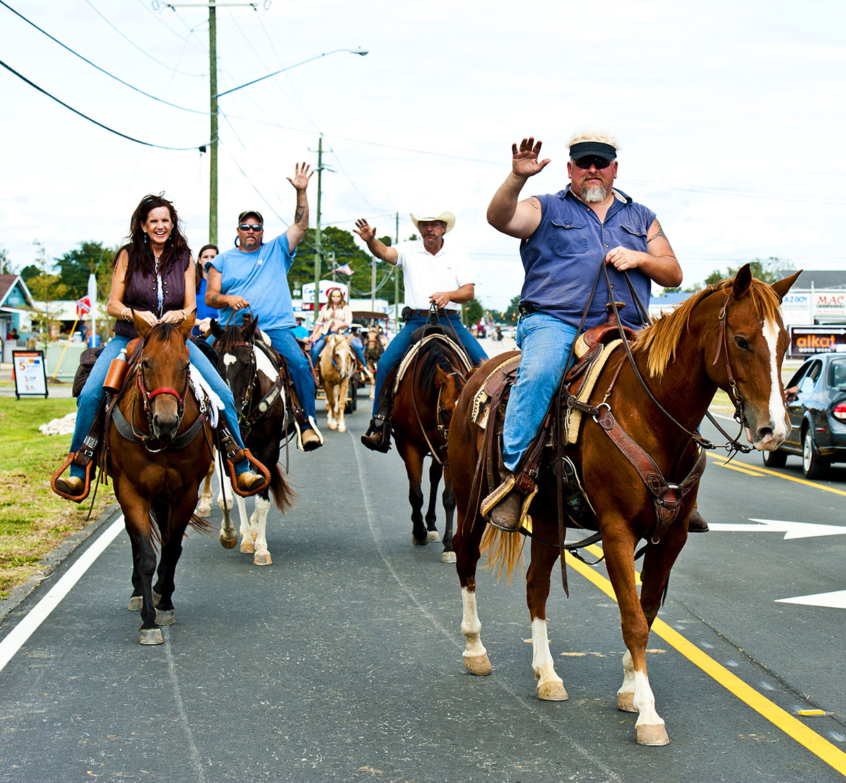 Howdy Bryan Regan Raleigh editorial photography Mule days Benson