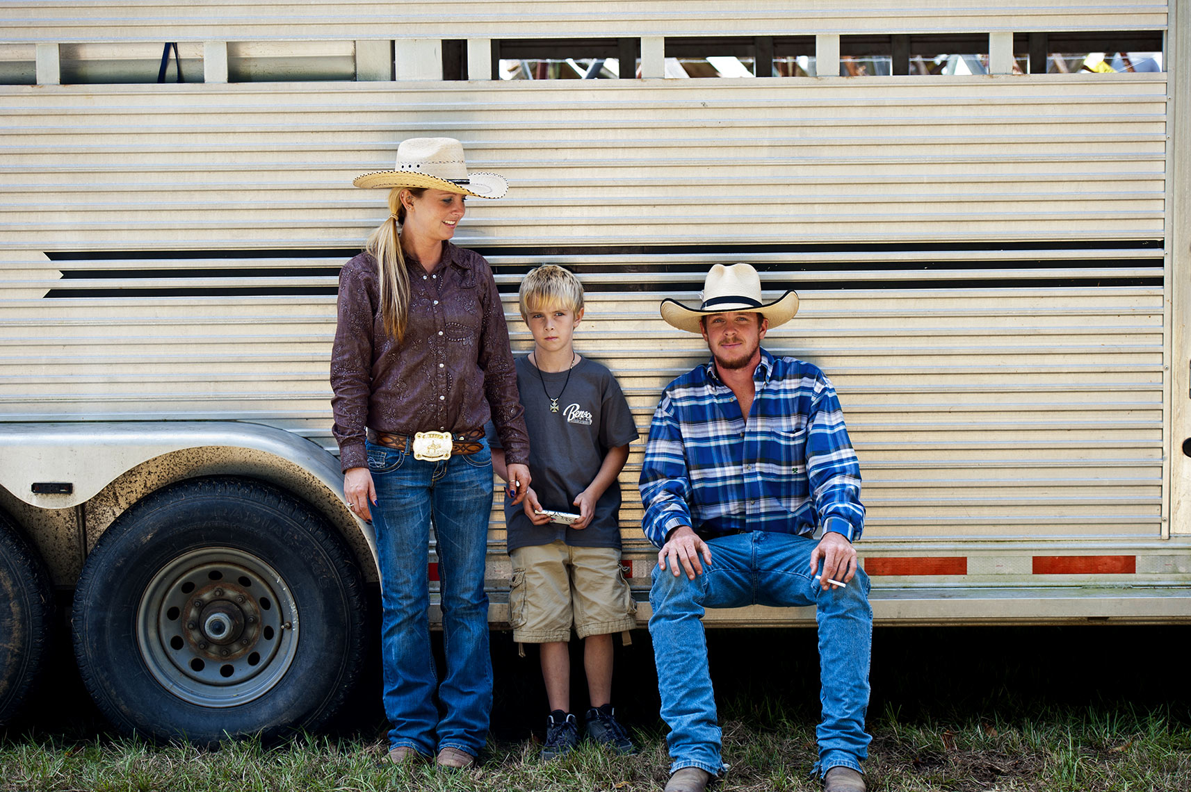 Raleigh portrait photography Bryan Regan  cowboy family