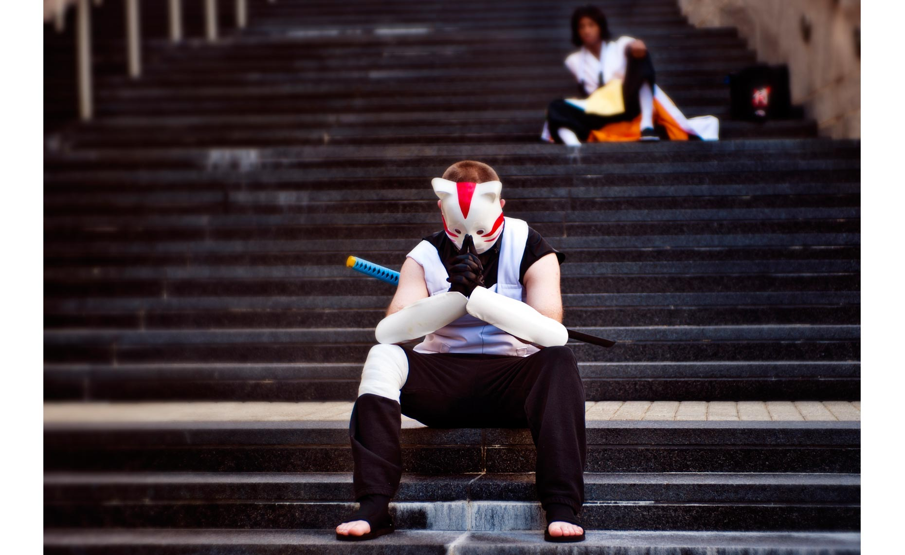 Animazement photography cat boy