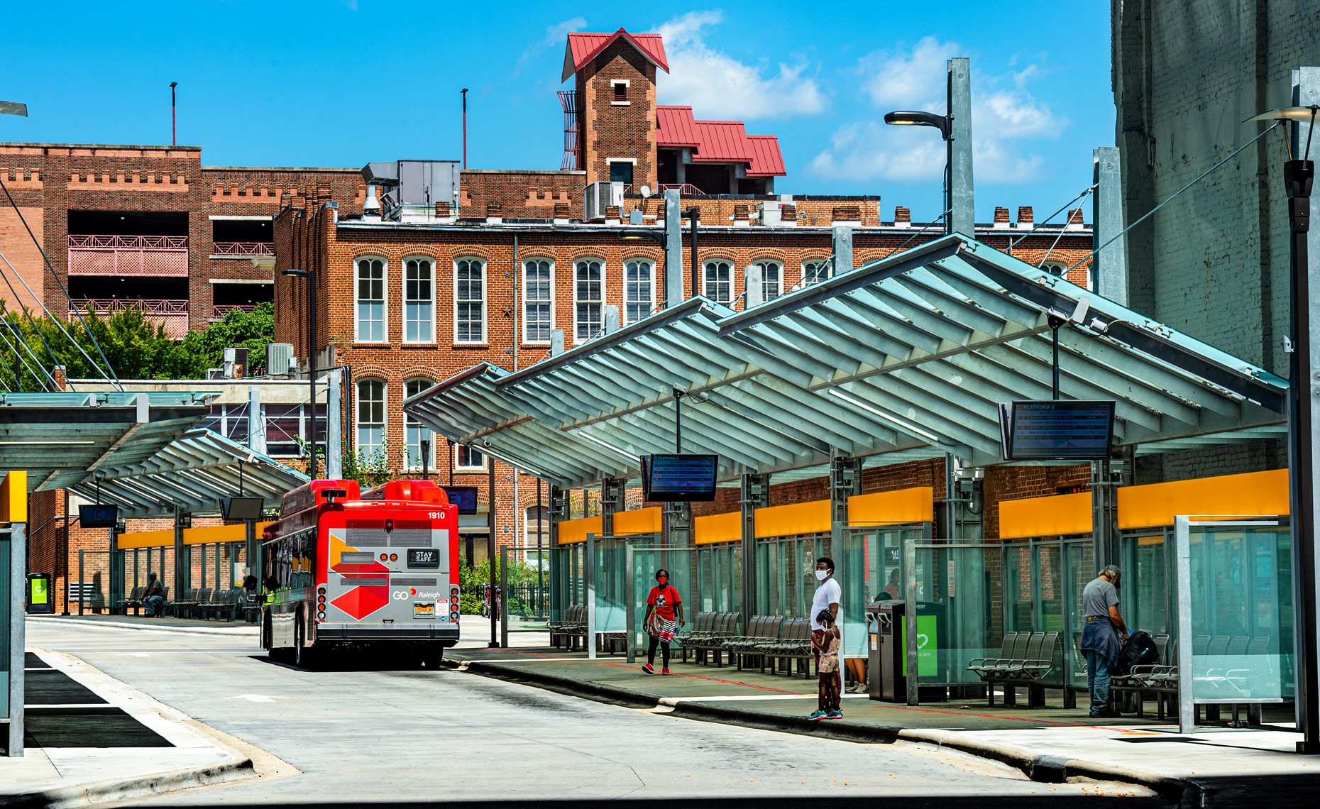 architecture photography Raleigh NC Bryan Regan bus station