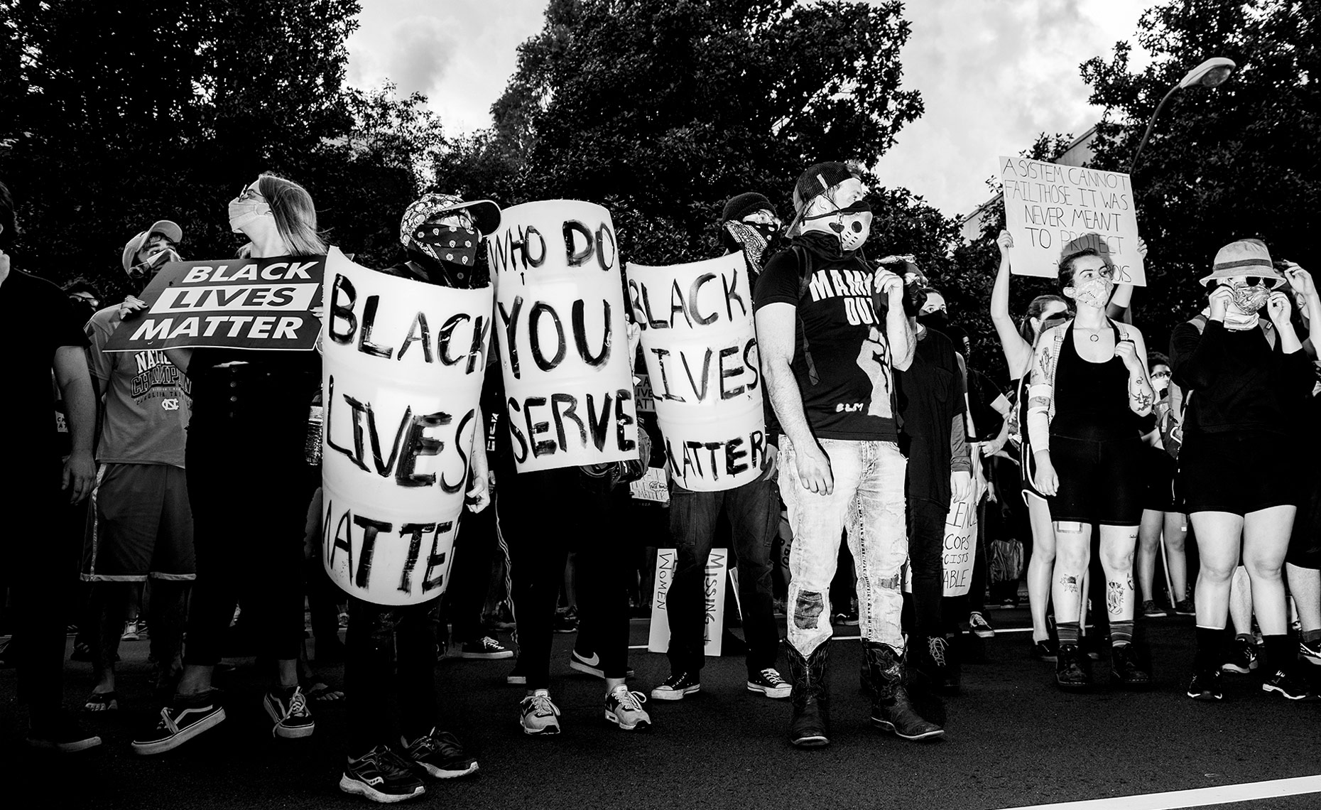 Black Lives Matter documentary photography Raleigh NC Bryan Regan