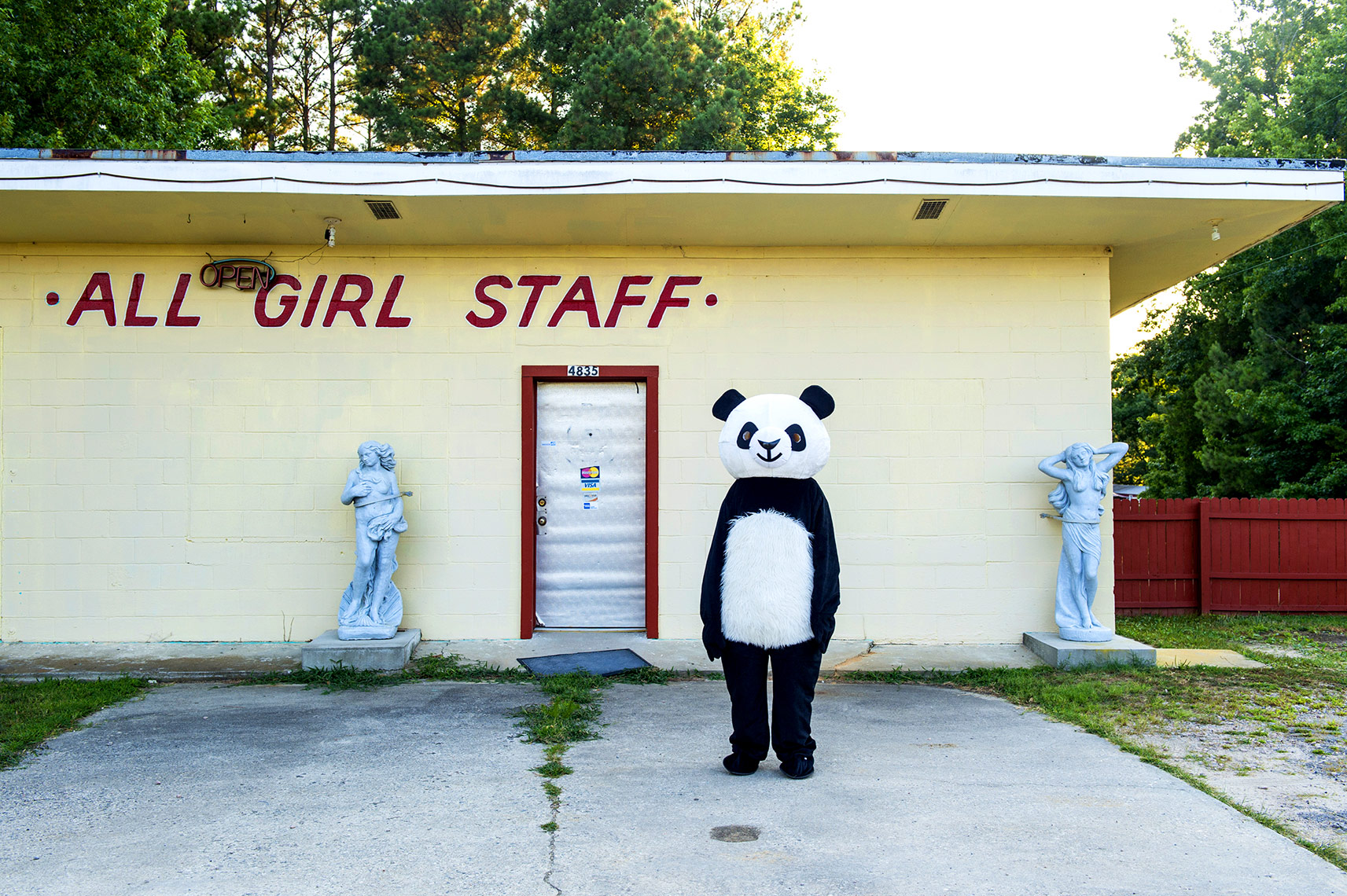 Bryan Regan Photography Side show Panda project
