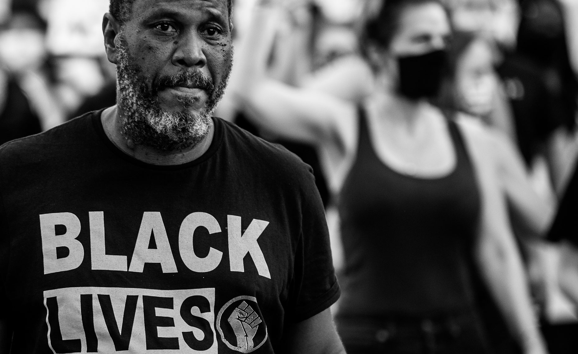 Raleigh documentary photography Bryan Regan black lives matter protest