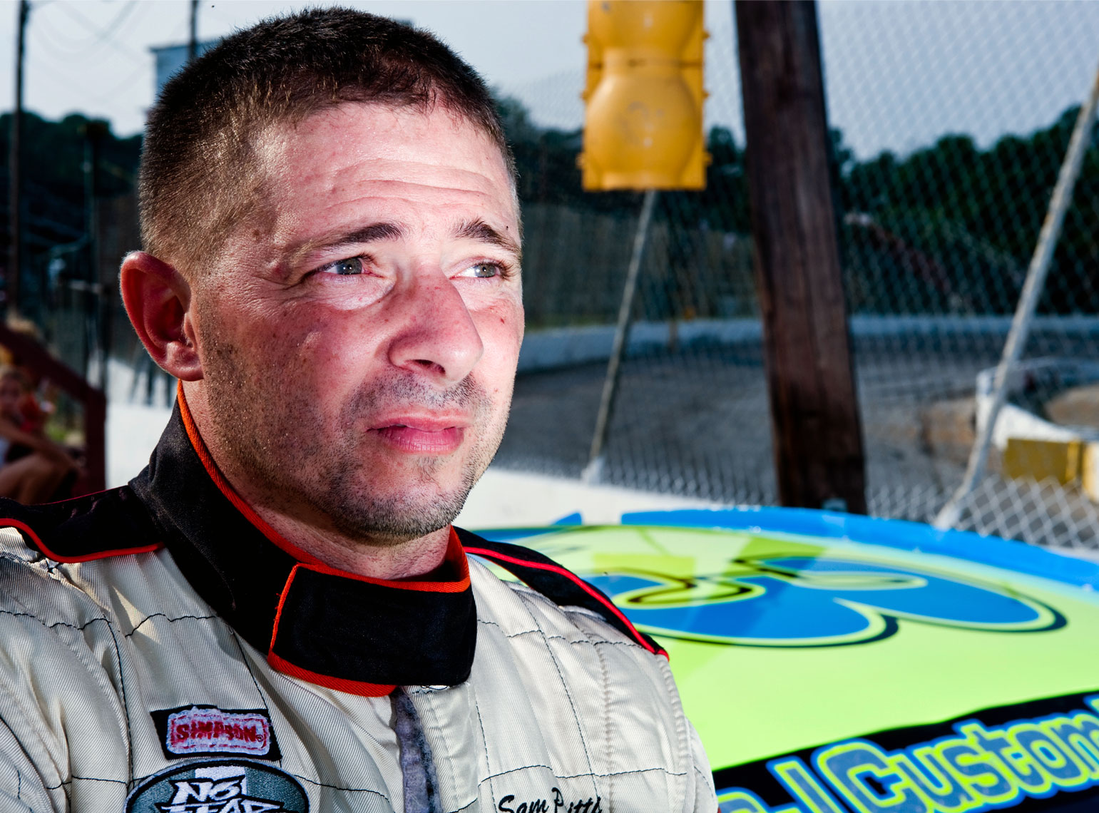 Wake County Speedway portrait photography Bryan Regan NASCAR