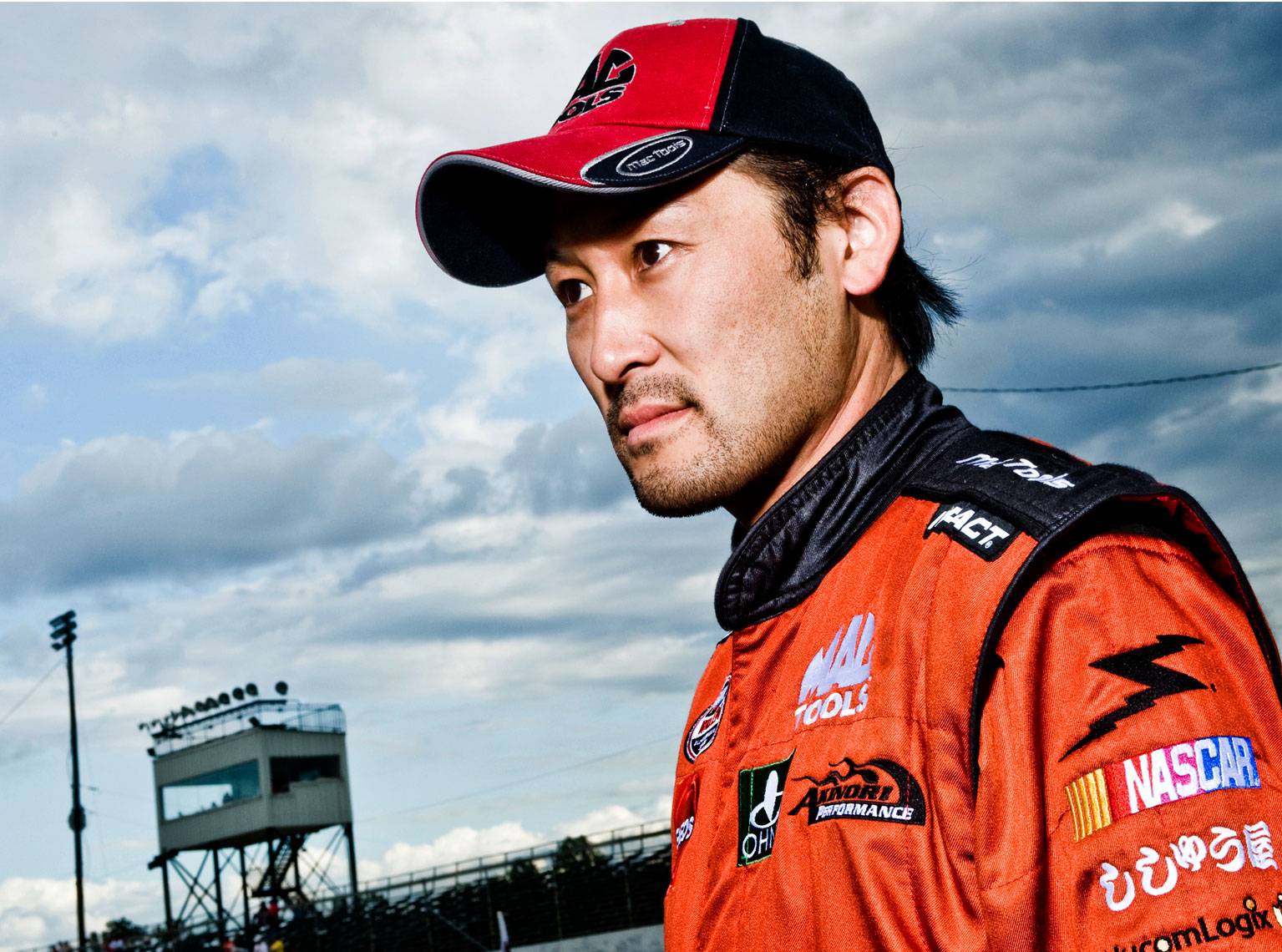 portrait photography Bryan Regan NASCAR Orange county Speedway