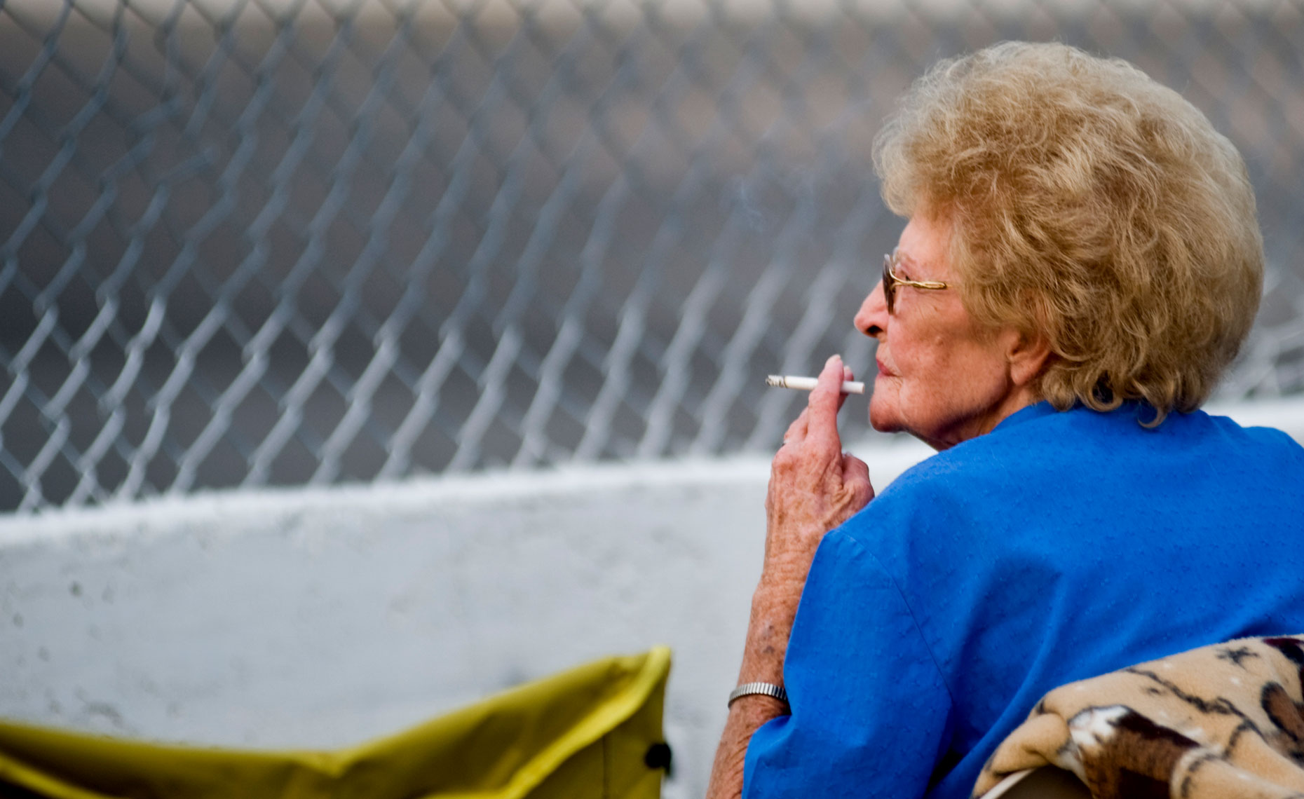 Wake County Speedway smoke break Editorial Photographer Bryan Regan