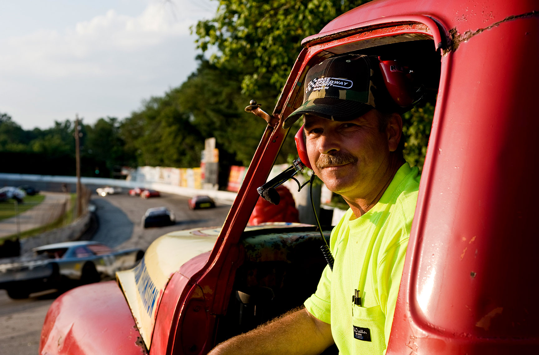 portrait photography raleigh Bryan Regan Wake County Speedway