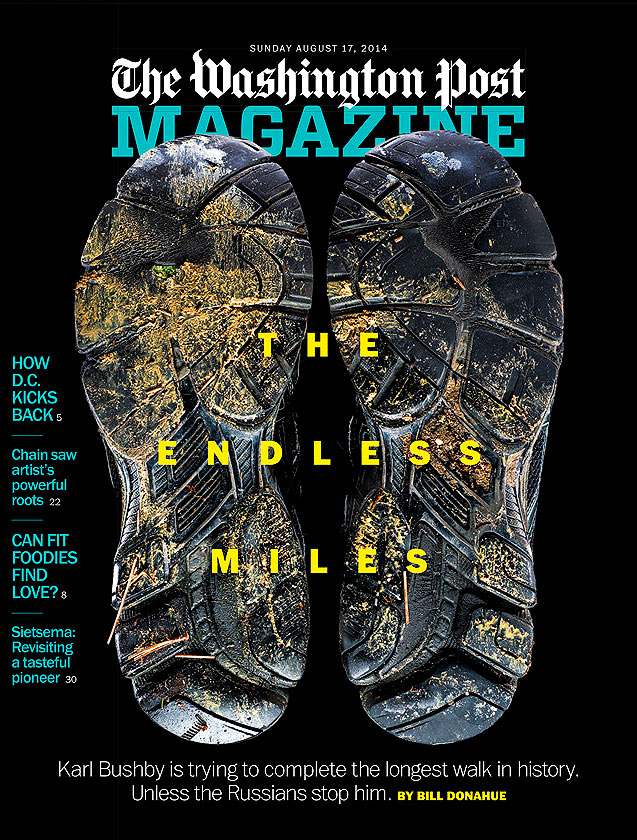 Still Life of shoes for Washington Post Magazine