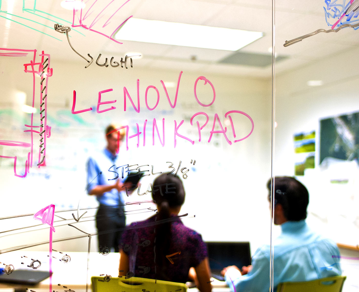Lenovo corporate photography