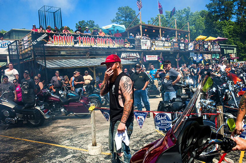Raleigh reportage photography Bike week Myrtle Beach SC