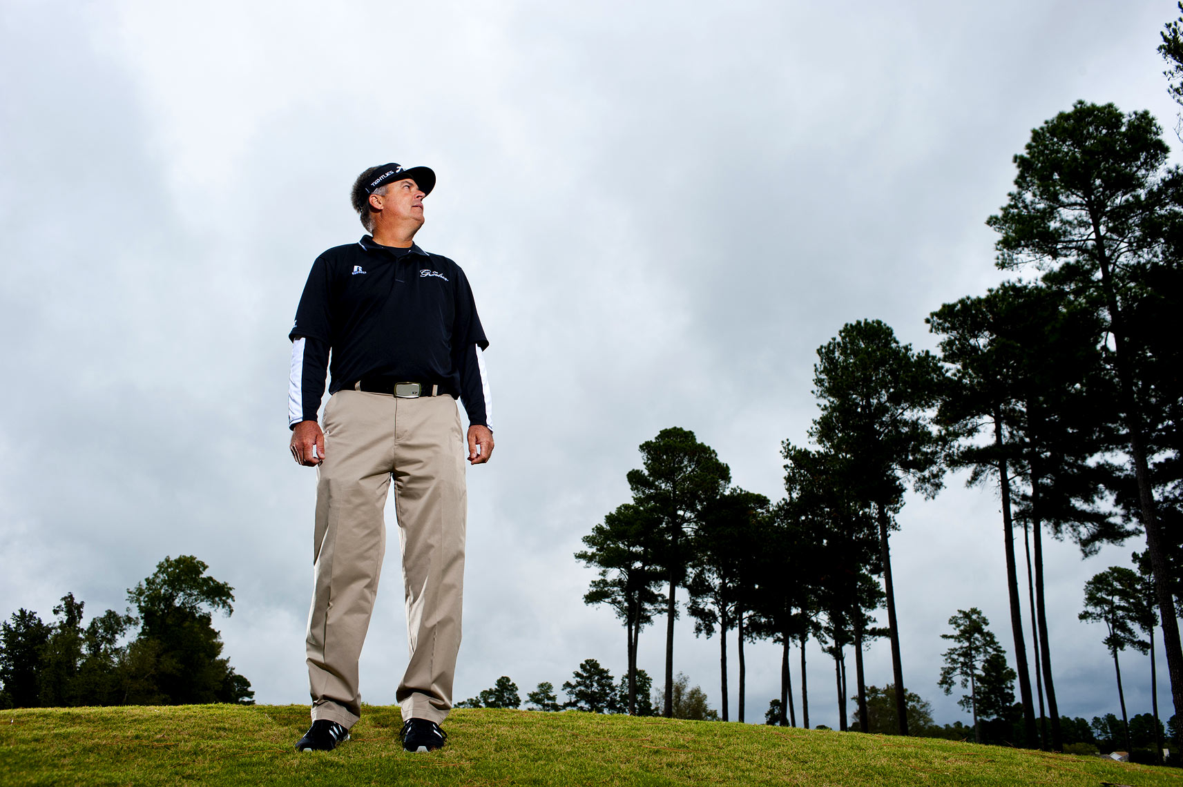 Raleigh sports photography Kenny Perry Golf Magazine