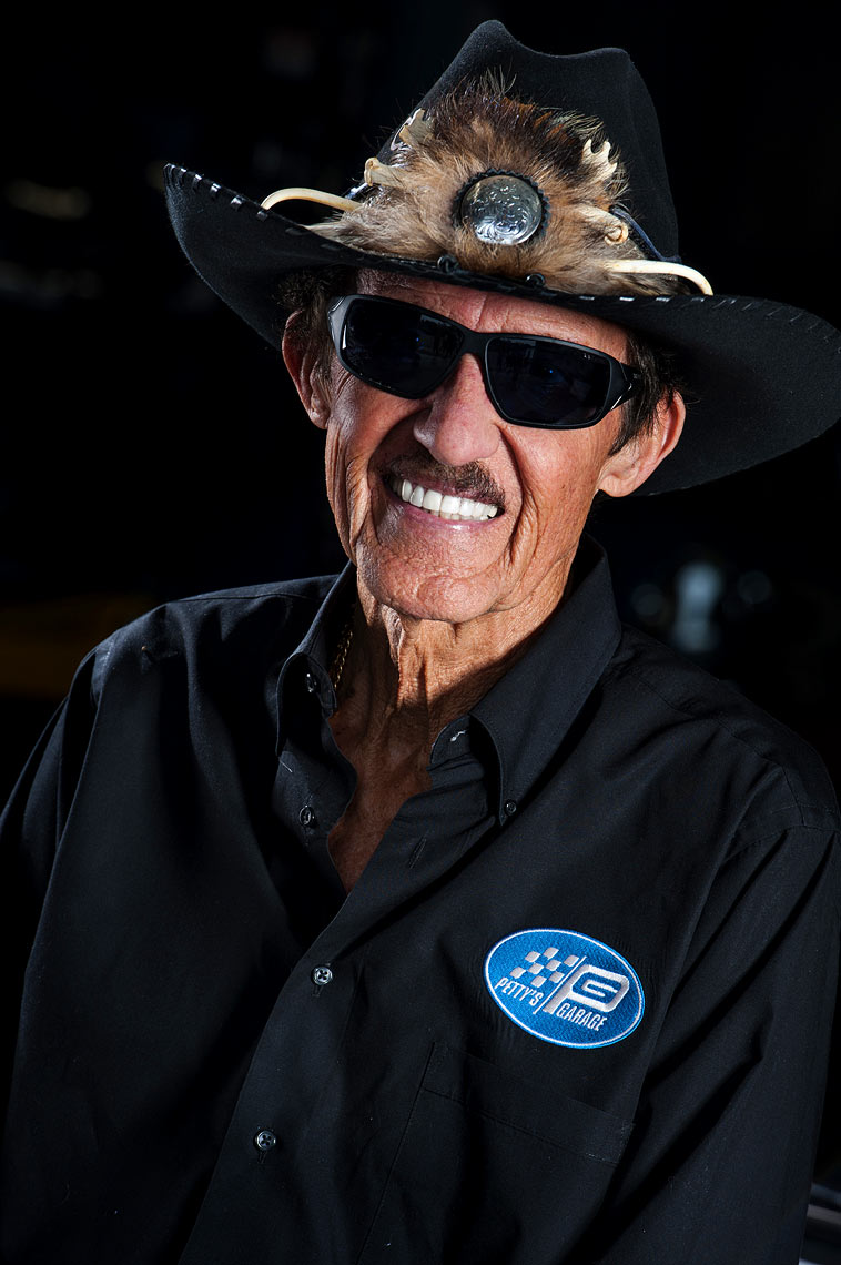 Raleigh editorial photography Richard Petty ESPN Magazine