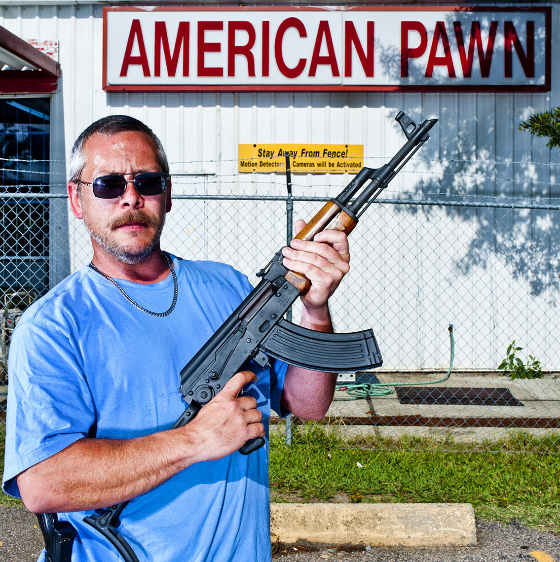 Raleigh portrait photography American Pawn