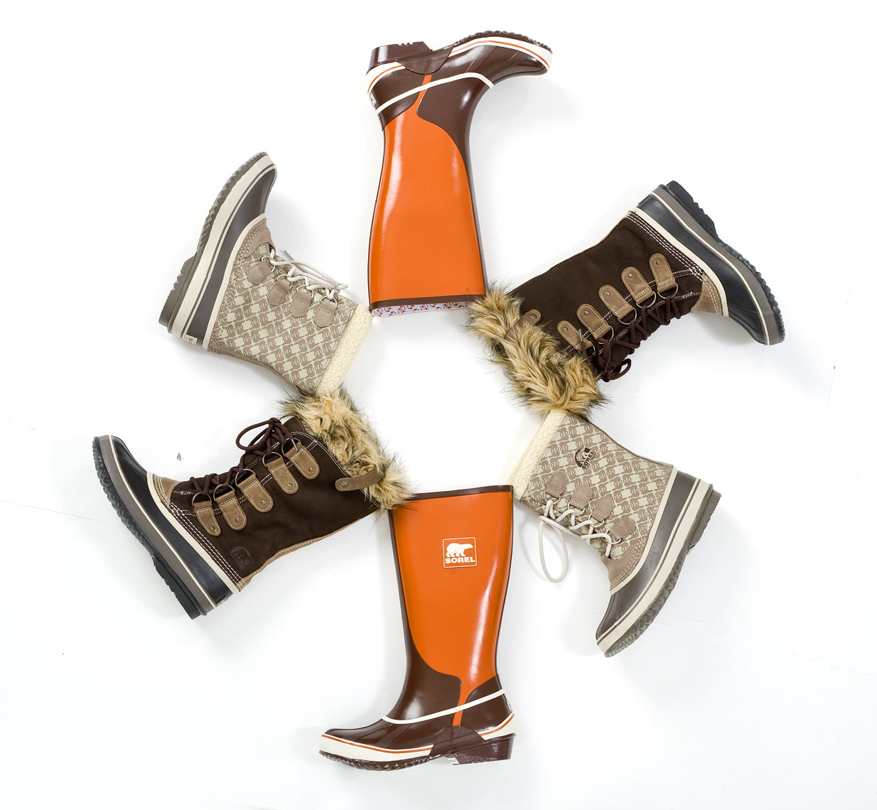 Sorel boots product photography Raleigh NC