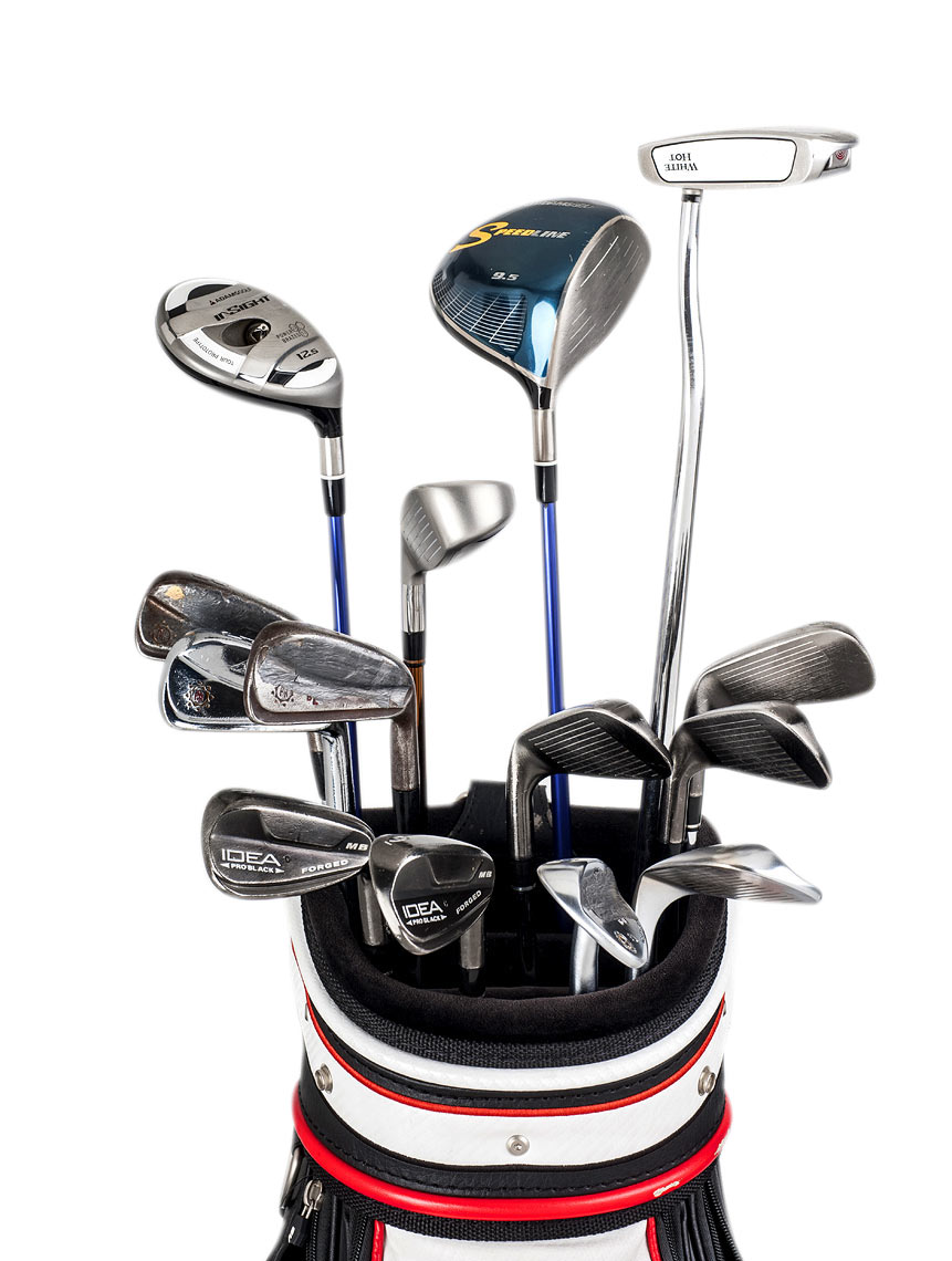 product photography for Golf Magazine Raleigh NC Bryan Regan