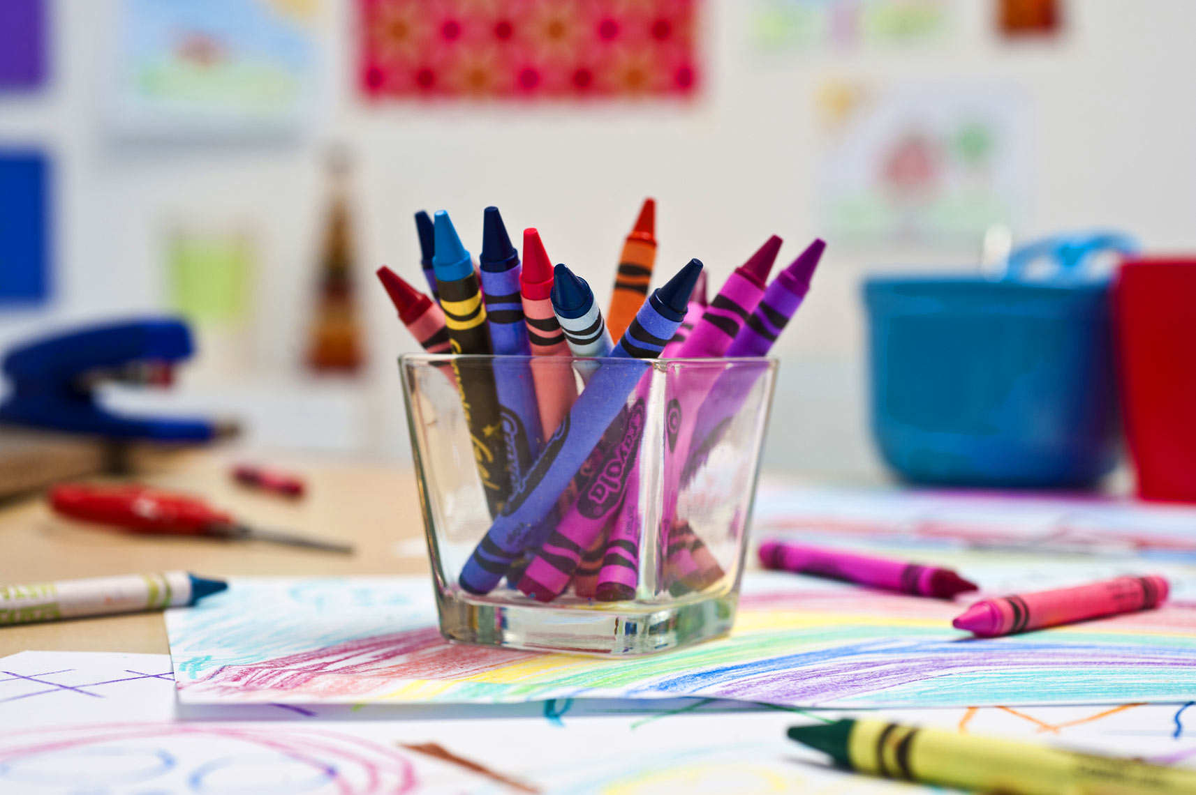 colorful crayons still life raleigh Bryan Regan CREE