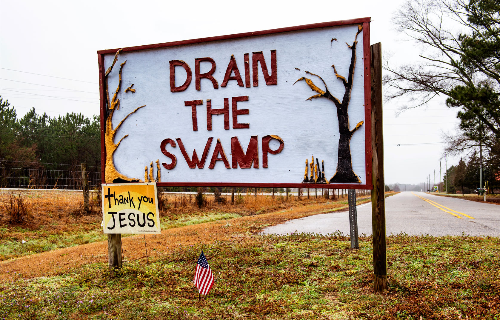 Raleigh editorial photography Bryan Regan Trump Drain the Swamp