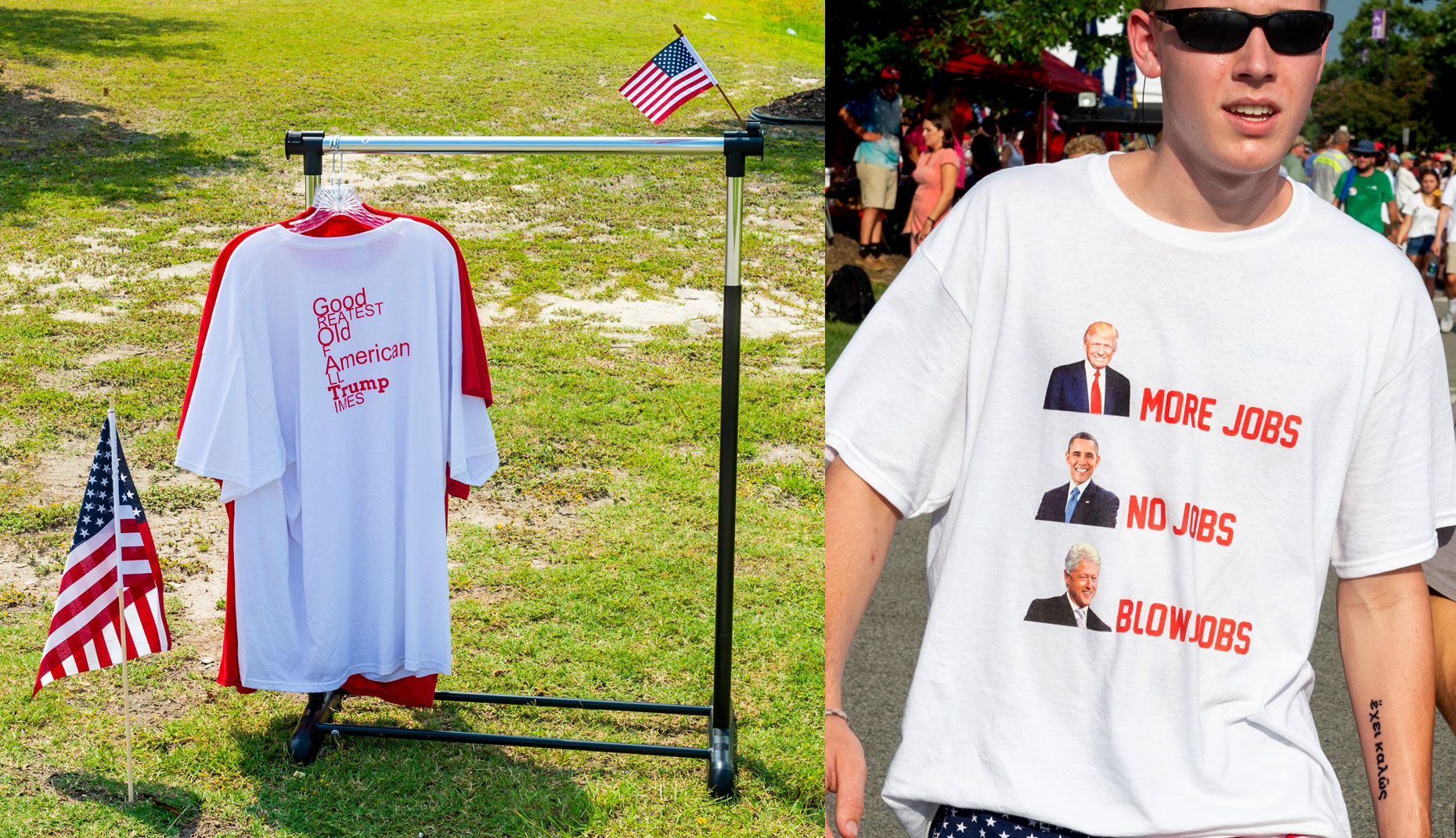Raleigh NC Political photography Bryan Regan Trump vendors Raleigh NC.