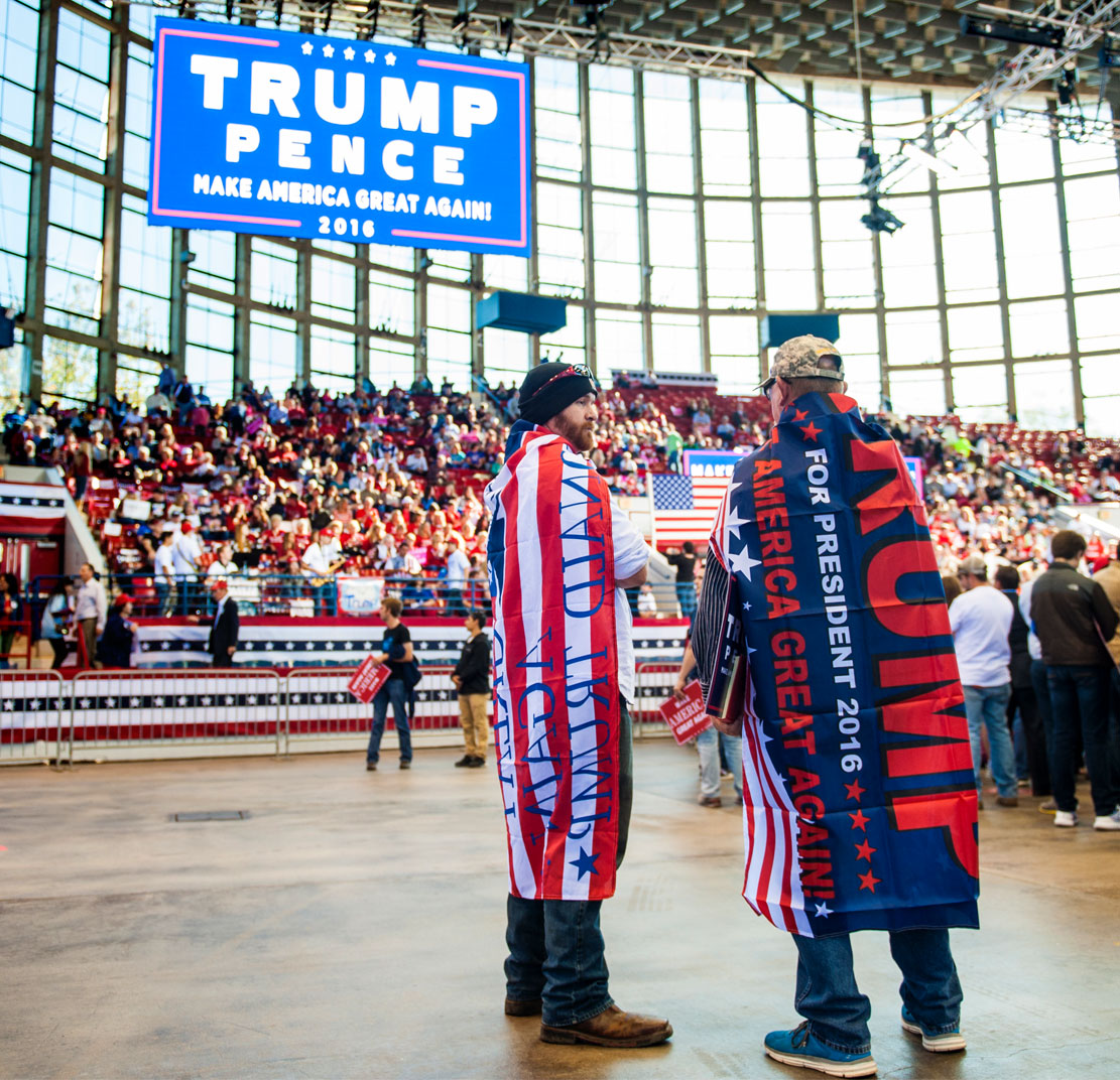North Carolina Political photographer Bryan Regan Trump